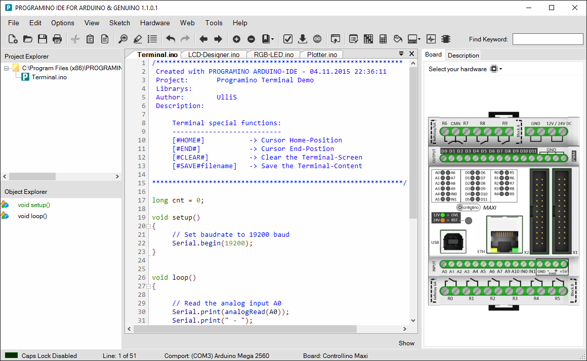 Arduino genuino software download